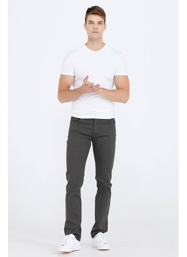 Sementa Beş Cepli Erkek Kanvas Pantolon - Haki Haki